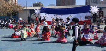 Celebración de Fiestas Patrias 2017